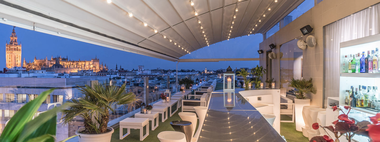 Terrace Hotel Inglaterra Seville City Centre Official